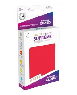 Ultimate Guard Supreme UX Sleeves Yu-Gi-Oh! Matte Red (60)