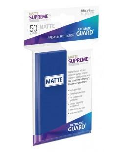 Протектори Ultimate Guard Supreme UX Sleeves Standard Size - Матово сини (50 бр.)