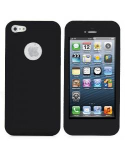 UltraThin Silicone Case  за iPhone 5 - черен