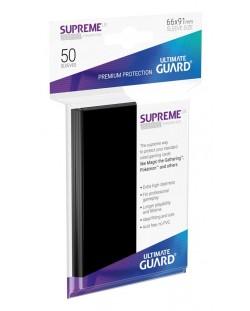 Протектори Ultimate Guard Supreme UX Sleeves - Standard Size - Черни (50 бр.)