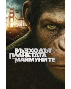 Възходът на Планетата на маймуните (DVD)