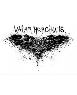 Метален постер Displate - Game of Thrones: Valar Morghulis