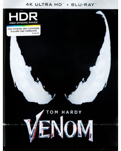 Венъм (4K UHD Blu-Ray)