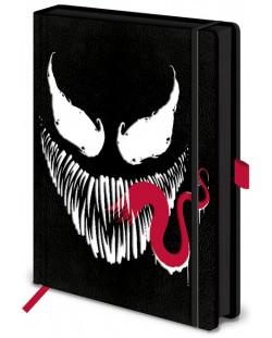 Тефтер Pyramid - Venom (Face), формат A5