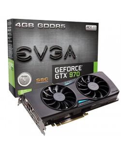 Видеокарта EVGA GeForce GTX970 SSC Gaming Edition (4GB GDDR5)