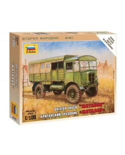 Военен сглобяем модел - Британски военен камион