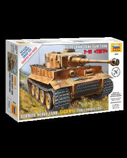 """Военен сглобяем модел - Германски танк  Pz.Kpfw.VI """"Tiger"""""""