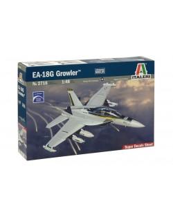"""Военен сглобяем модел - Американски палубен самолет за радио-електронна борба Боинг Е/Ф-18 """"Гроулър"""" (Boeing E/F-18G GROWLER)"""