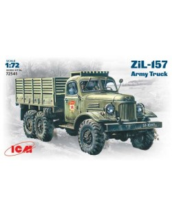 Военен сглобяем модел - Съветски армейски камион ЗиЛ-157 /ZiL-157/