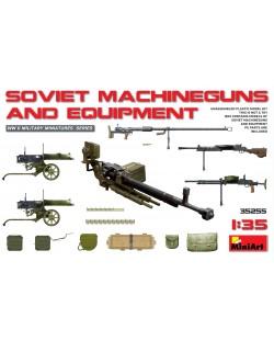 Военен сглобяем модел - Съветски картечници и оборудване (Soviet Machineguns & Equipment)