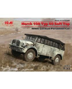 Военен сглобяем модел - Германски автомобил Хорх 108 Тип 40 (Horch 108 Typ 40) от Втората световна война