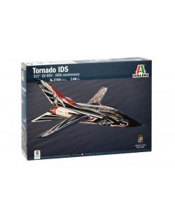 Военен сглобяем модел - Италиански двуместен реактивен многоцелеви боен самолет Панавиа Торнадо ИДС 60 (TORNADO IDS 60 ANNIV. 311 GV RSV Sp)