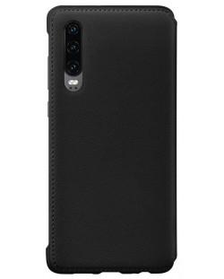 Калъф Huawei Elle P30 - Wallet Cover, черен