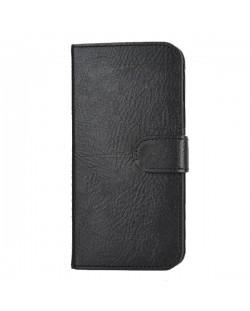 Wallet Flip Case за iPhone 5 -  черен