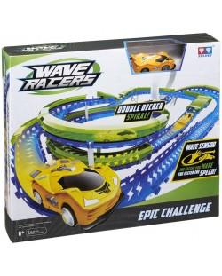 Писта Wave Racers - Epic Challenge, с кола със сензор за движение