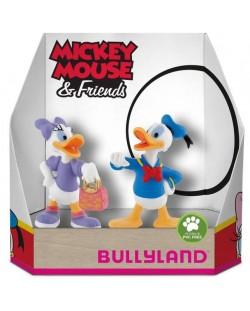 Комплект фигурки Bullyland Mickey Mouse & Friends - Дейзи и Доналд