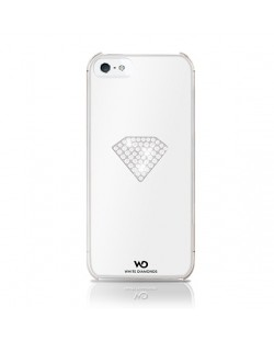 White Diamonds Rainbow за iPhone 5 -  бял