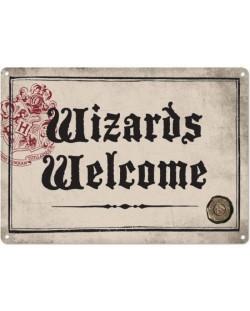 Табелка за врата Half Moon Bay - Harry Potter: Wizards Welcome