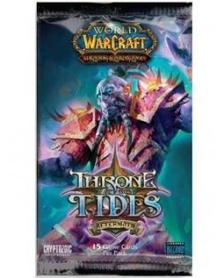 World of Warcraft TCG - Throne of the Tides Booster Pack