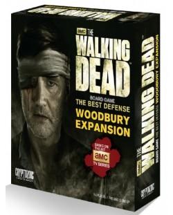 Разширение за настолна игра  The Walking Dead Board Game - The Best Defense - Woodbury Expansion