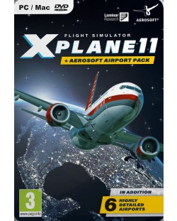 X-Plane 11 & Aerosoft Airport Collection (PC)