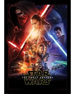 XL плакат Pyramid - Star Wars Episode VII (One Sheet)