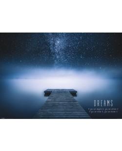 XL плакат Pyramid - Dreams