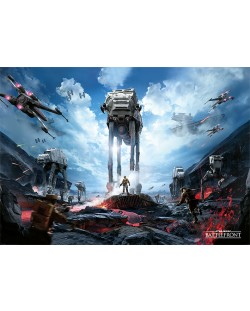 XL плакат Pyramid - Star Wars Battlefront (War Zone)