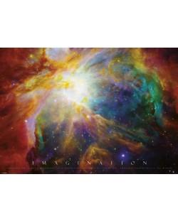 XL плакат Pyramid - Imagination (Nebula)