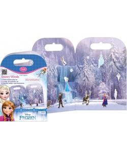 Активна игра със стикери Revontuli Toys Oy - Замръзналото кралство, Снежни гори
