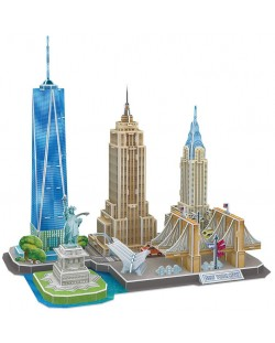 3D Пъзел Revell - Забележителности в Ню Йорк