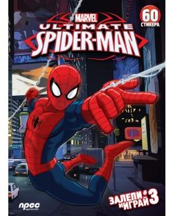 Залепи и играй 3: The Ultimate Spider-Man + 30 стикера