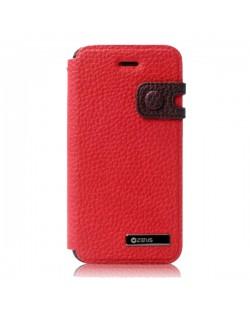 Zenus Masstige Color Edge Diary за iPhone 5 -  червен