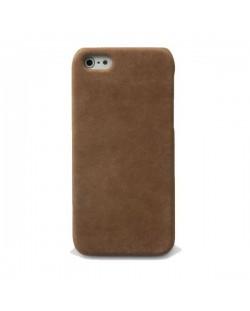 Zenus Prestige Vintage Leather Bar за iPhone 5 -  кафяв