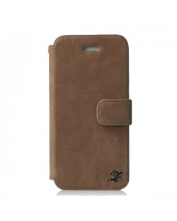 Zenus Prestige Vintage Leather Diary за iPhone 5