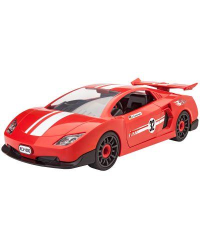Сглобяем модел на състезателен автомобил Revell - Rennwagen (00800) - 1