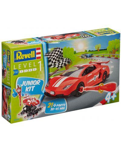 Сглобяем модел на състезателен автомобил Revell - Rennwagen (00800) - 4