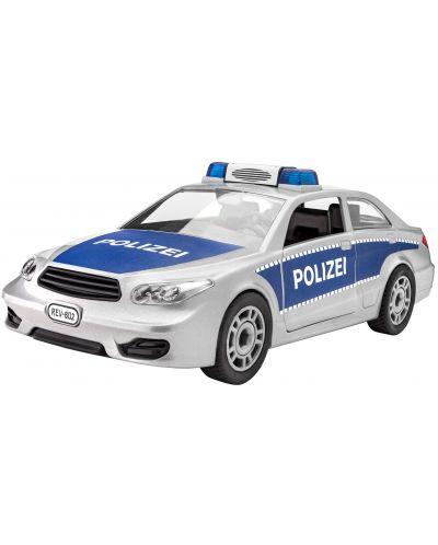 Сглобяем модел на полицейски автомобил Revell (00802) - 1