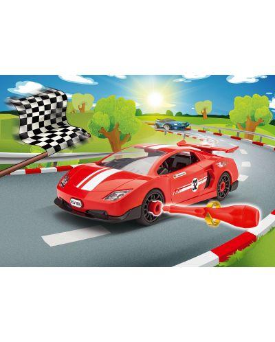 Сглобяем модел на състезателен автомобил Revell - Rennwagen (00800) - 3