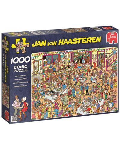 Пъзел Jumbo от 1000 части - Специалният рожден ден, Ян ван Хаастерен - 1