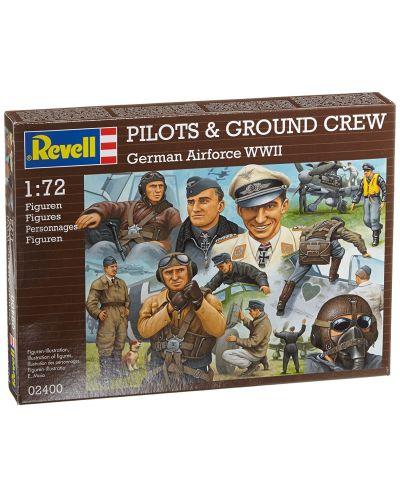 Фигури Revell - Pilots & ground crew Germain Airforce WWII (02400) - 1