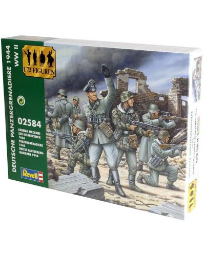 Фигури Revell - German Mechanized Infantrymen 1944 (02584) - 1