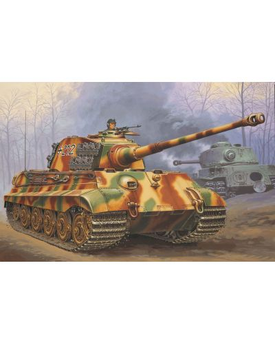 Сглобяем модел на танк Revell - Tiger II Ausf. B (03129) - 2