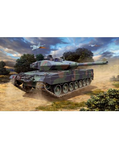 Сглобяем модел на танк Revell - Leopard 2 A6/A6M (03180) - 2