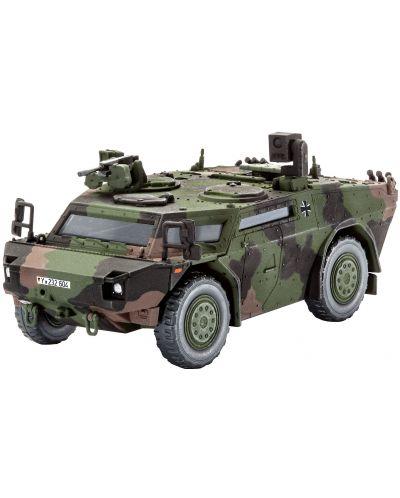 Сглобяем модел на военен транспорт Revell - Scout car Fennek (03136) - 1