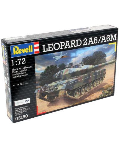 Сглобяем модел на танк Revell - Leopard 2 A6/A6M (03180) - 6