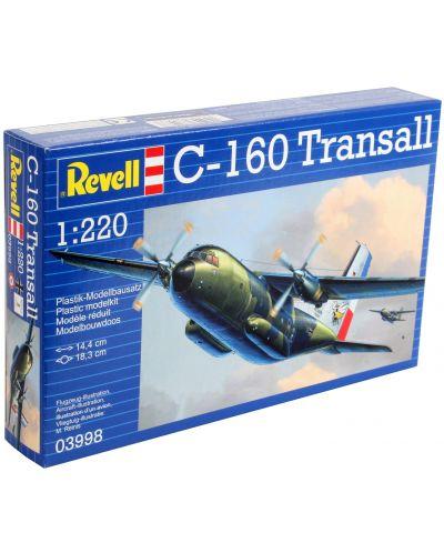 Сглобяем модел на военен самолет Revell - C160 Transall (03998) - 3