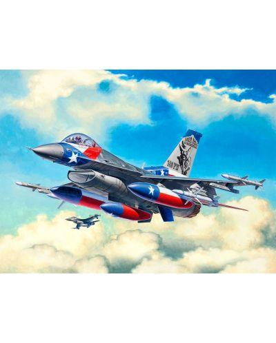 Сглобяем модел на изтребител Revell Lockheed - Martin F-16C Fighting Falcon (03992) - 2