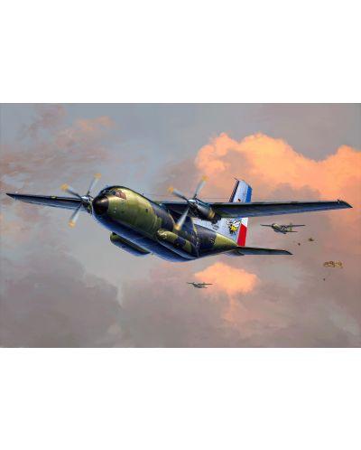 Сглобяем модел на военен самолет Revell - C160 Transall (03998) - 2