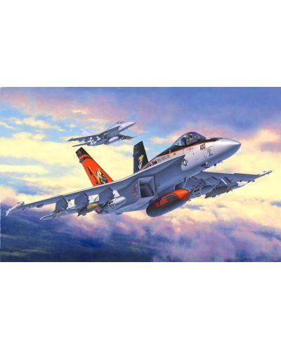 Сглобяем модел на изтребител Revell - F/A-18E Super Hornet (03997) - 2